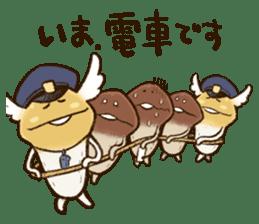 Funghi Manga Sticker 2 sticker #5563427