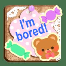 Cork board-English- sticker #5571733