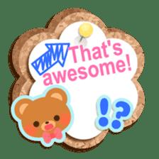 Cork board-English- sticker #5571739