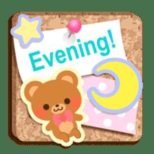 Cork board-English- sticker #5571756