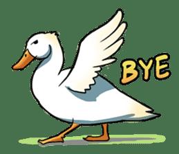 Quack Quack Duck Talk sticker #5574865