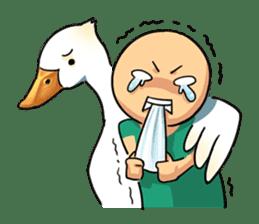 Quack Quack Duck Talk sticker #5574876