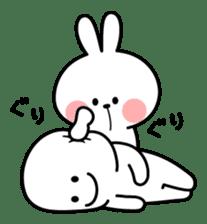 Spoiled Rabbit sticker #5581295