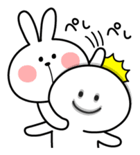 Spoiled Rabbit sticker #5581297