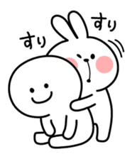 Spoiled Rabbit sticker #5581298