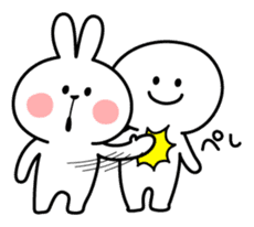 Spoiled Rabbit sticker #5581304