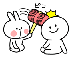 Spoiled Rabbit sticker #5581311
