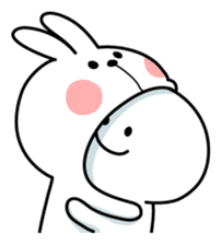 Spoiled Rabbit sticker #5581319