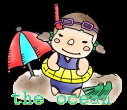 Bride miisann life The summer holidays sticker #5589564