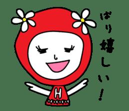 Red Fairy sticker #5590248