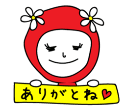 Red Fairy sticker #5590249