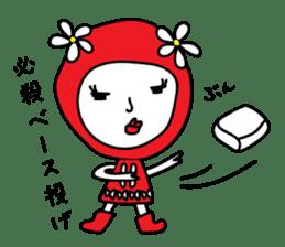 Red Fairy sticker #5590250