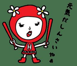 Red Fairy sticker #5590251