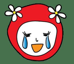 Red Fairy sticker #5590252