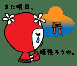 Red Fairy sticker #5590253