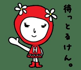 Red Fairy sticker #5590254
