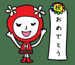 Red Fairy sticker #5590255