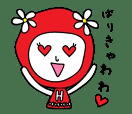 Red Fairy sticker #5590256