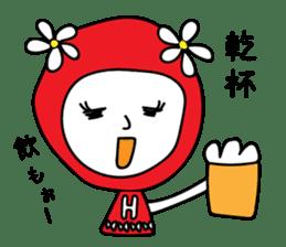 Red Fairy sticker #5590258