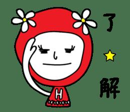 Red Fairy sticker #5590260