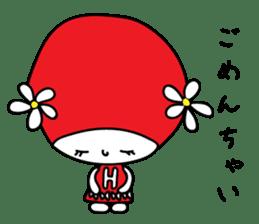 Red Fairy sticker #5590261