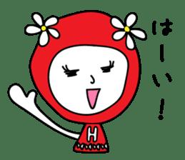 Red Fairy sticker #5590267