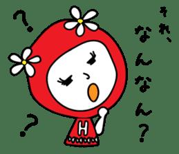 Red Fairy sticker #5590268