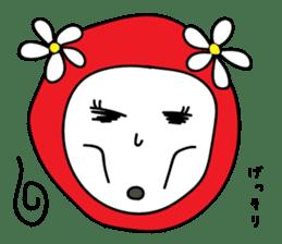 Red Fairy sticker #5590270
