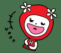 Red Fairy sticker #5590275