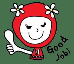 Red Fairy sticker #5590277