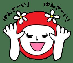 Red Fairy sticker #5590278