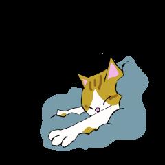 皮肉な猫ジルのスタンプ