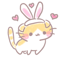 Scottish rabbit sticker #5597205