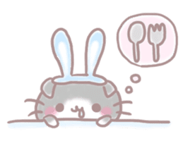 Scottish rabbit sticker #5597208
