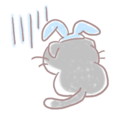 Scottish rabbit sticker #5597210