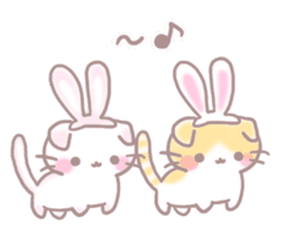 Scottish rabbit sticker #5597212
