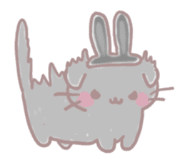 Scottish rabbit sticker #5597213