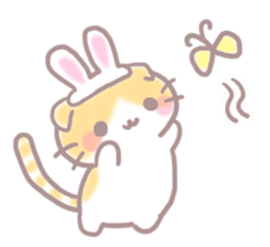 Scottish rabbit sticker #5597218