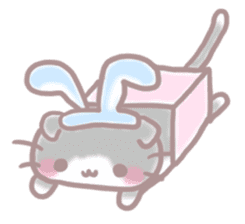 Scottish rabbit sticker #5597219
