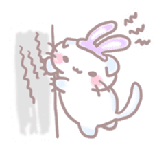 Scottish rabbit sticker #5597223