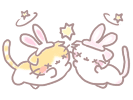 Scottish rabbit sticker #5597234