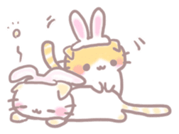Scottish rabbit sticker #5597236