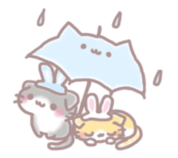 Scottish rabbit sticker #5597240