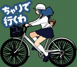 Girl student ninja Chiyona Mochizuki sticker #5622346