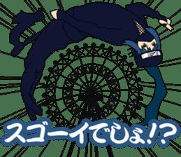 Girl student ninja Chiyona Mochizuki sticker #5622356