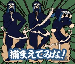 Girl student ninja Chiyona Mochizuki sticker #5622357