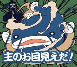 Girl student ninja Chiyona Mochizuki sticker #5622358