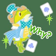 Alice -English- sticker #5622371
