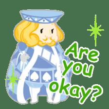 Alice -English- sticker #5622379