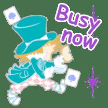 Alice -English- sticker #5622384